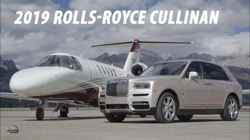 2019 Rolls-Royce Cullinan with CEO Torsten Müller-Ötvös in Jackson Hole, Wyoming