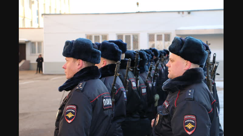 Брянские полицейские отправились в Моздок