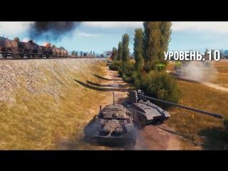 World of Tanks - красивая графика, отличный геймплей!