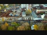 Снос завода КРИН. Новый квартал фирмы Маяковской. Вид сверху.