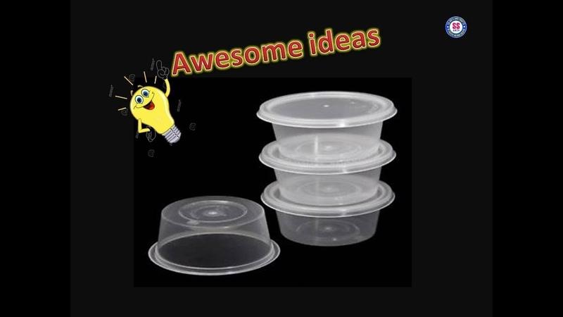 BestoutofWasteReuseWasteMaterials Food Container Reuse Ideas  