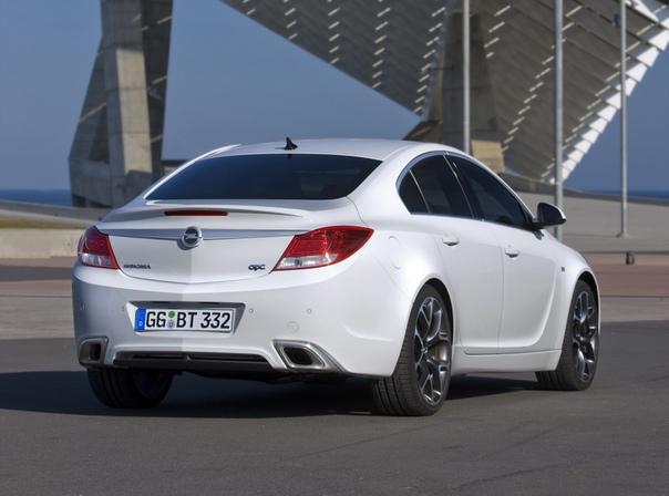 Обзор : 2009 Opel Insignia OPC