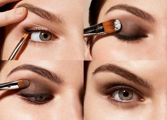 смотреть как правильно наносить макияж на все лицо