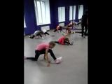 фрагмент урока по эстрадно-спортивным танцам. Школа танцев