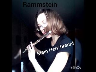 Rammstein Mein Herz brennt theme.mp4