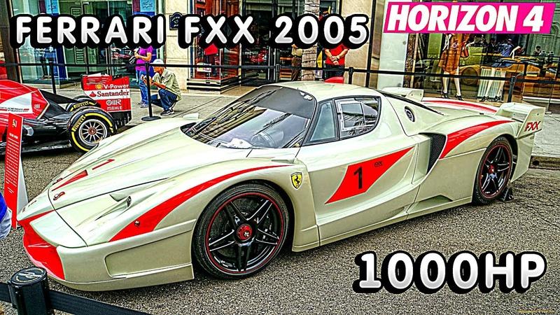 Forza Horizon 4 - Ferrari FXX 2005 1000hp
