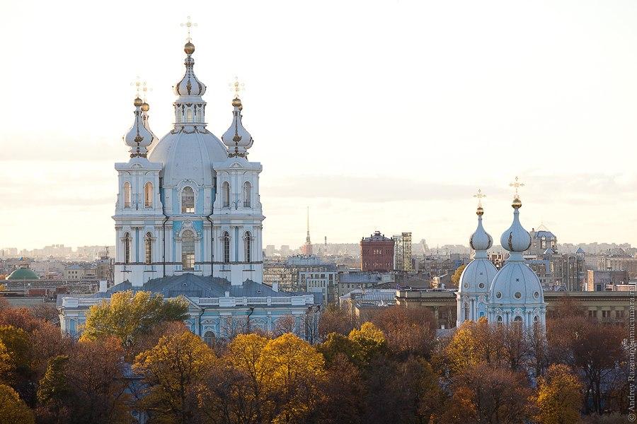 Смольный собор Санкт-Петербург Охта
