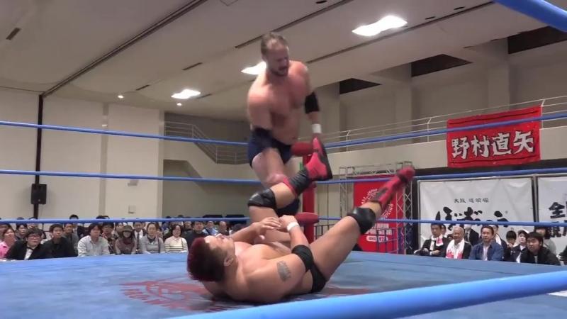 Joe Doering vs. Yuji Hino (AJPW - Champion Carnival 2018 - Day 4)