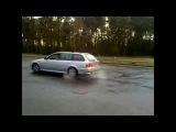 ЖЭСТЬ на BMW 5 e39,КАК ПИЛИЛИ в дождь на BMW 530D e39, 2001,