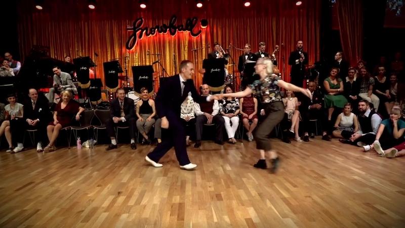 The Snowball 2016 Lindy Hop Invitational Strictly Skye Frida