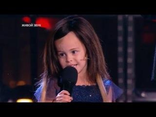 Девочка пела лепса на новый год
