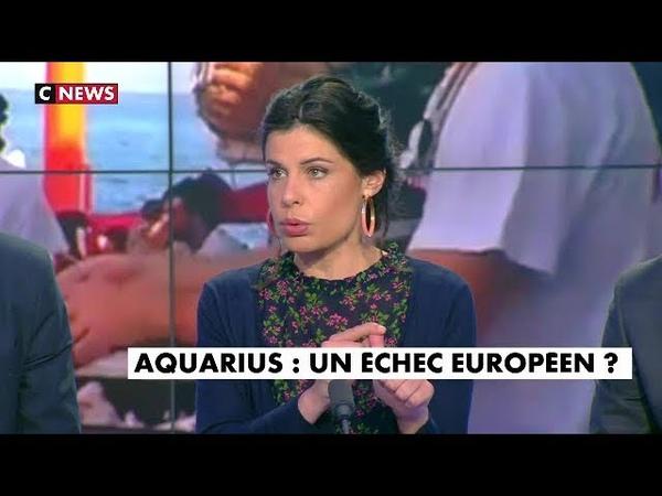 Migrants / CHARLOTTE D'ORNELLAS : « Il n'y a aucun devoir moral à l'accueil de ce bateau »