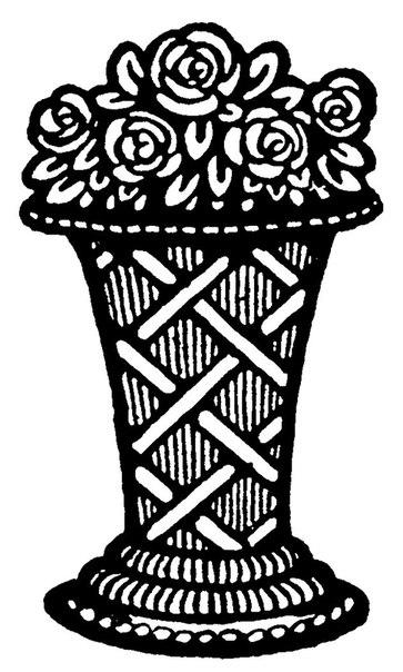 черно-белая схема вышивки