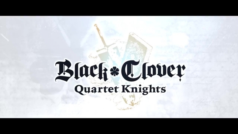 Black Clover Quartet Knights - PS4_PC - The Wizard King (English Story Trailer)