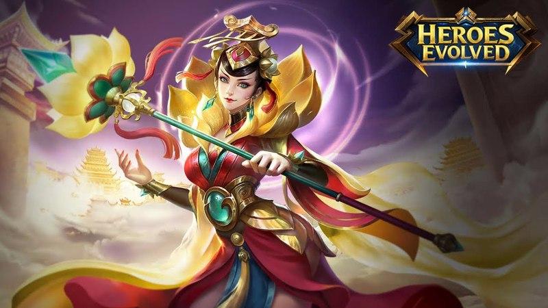 Cleopatra Nova Skin In-Game - Heroes Evolved Mobile