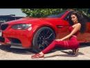 Позирование модели Voyage Models для BMW SEV FEST 2018