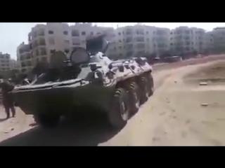Пропагандистский БТР
