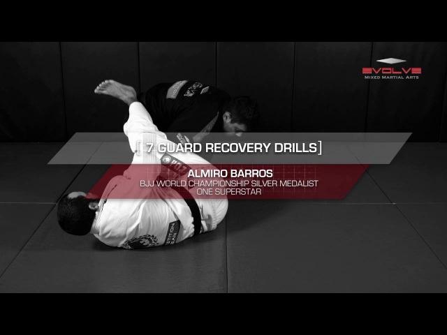 BJJ 7 Basic Guard Recovery Drills | Evolve University