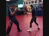 🎬Когда девушке в боксе точно не слабый пол 🥊