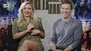 The Gifted Season 2 | Stephen Moyer Natalie Alyn Lind Interview