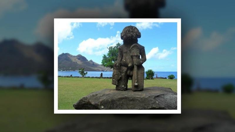 Смотри и думай... История 6. Загадочные статуи Нуку - Хива... Statues of Nuku- Hiva...