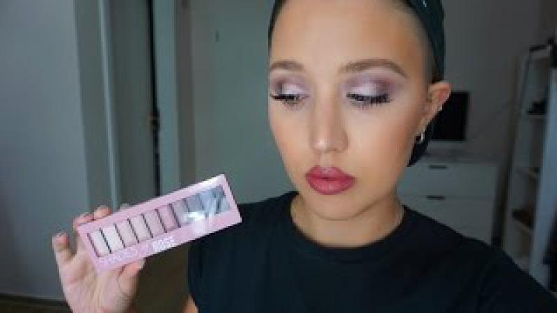 Misslyn Shades Of Rose Palette First Impressions / Drogerie Tutorial - Deutsch | Valentina_Lip
