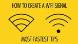How to Create a wifi signal in adobe illustrator with 2 tips