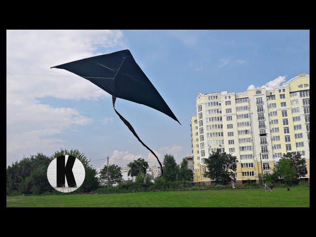 Как сделать большого воздушного змея? / How to make a big kite?
