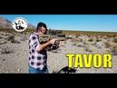 TAVOR 5.56 OTAN PRESENTATION DANS LE DESERT DU NEVADA