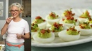 Deviled Eggs with Peas and Ham-Everyday Food with Sarah Carey