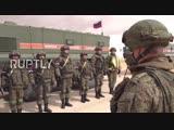 Обеспечение безопасности гуманитарного конвоя российскими военными в Сирии