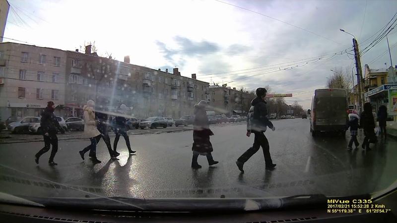 Авария Челябинск февраль 2017