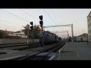 Электровоз ВЛ82М 049 следует резервом в депо ТЧ 5 Полтава по станции Полтава Южная