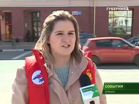Брянская команда Молодежки ОНФ провела акцию Шумные выходные
