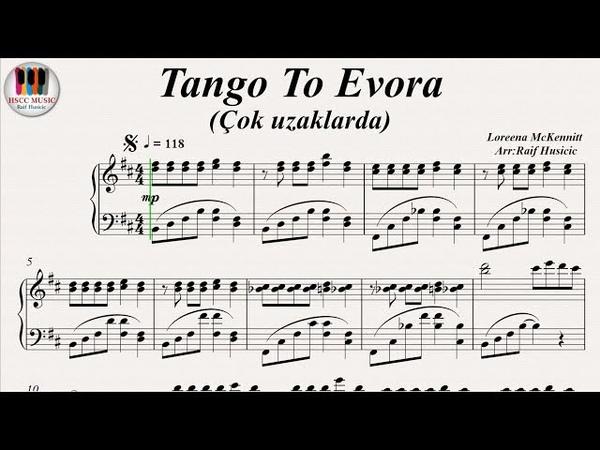 Tango To Evora (Çok Uzaklarda) - Loreena McKennitt, Nilüfer, Piano