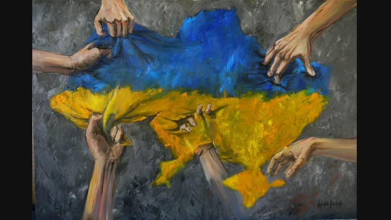 TAK WYGLĄDAJĄ STOSNKI POLSKO - uKRAIŃSKIE (ukrainian Banderites decapitate effig