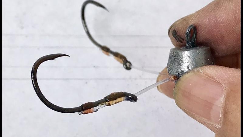 Touch Fishing - DIY Touch Hooks(4 Hooks)How To Fishing - Cách Làm Lưỡi Tứ Câu Chạm