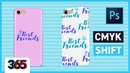 CMYK Shift | Photoshop CC Tutorial 42/365 Days of Creativity