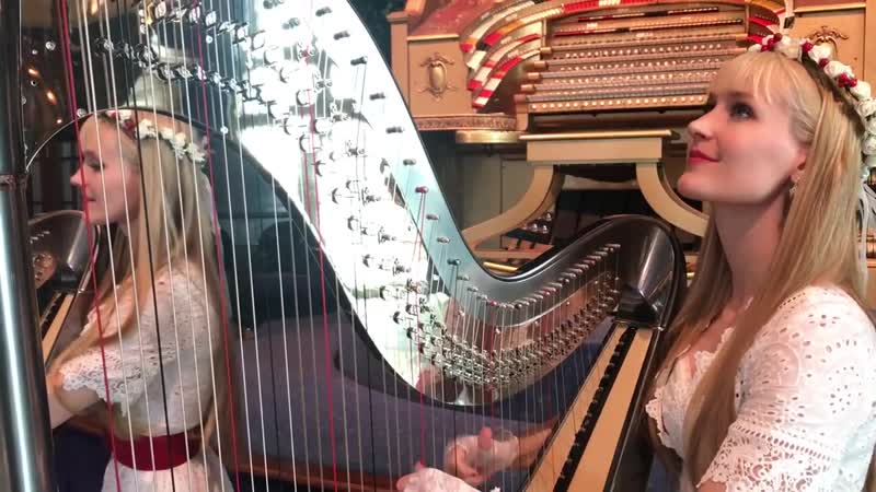 CAROL OF THE HARPS (Harp Twins) - Camille and Kennerly