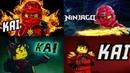 LEGO ninjago KAI Jay, Cole, Nya, Zane, Lloyd, Sensei, Garmadon, new season series and par Ниндзяго