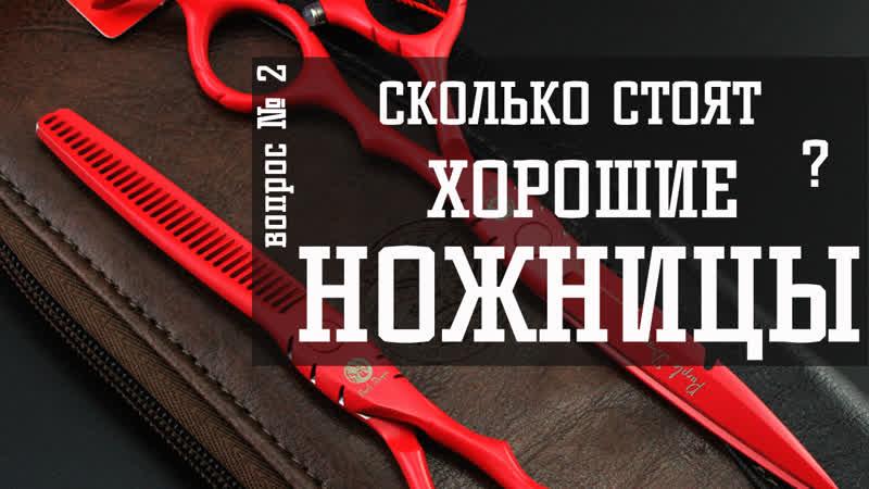 В.2. Сколько стоят хорошие ножницы