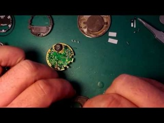 Tissot T Touch Repair-Disassembly Movement part 5