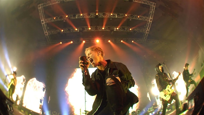 Coldrain FEED THE FIRE LIVE AT BUDOKAN