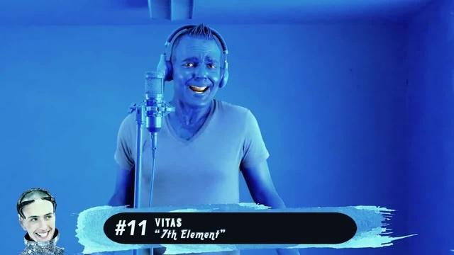 The blue element