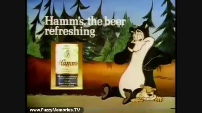 Hamms Beer - Beaver Trouble (1979)