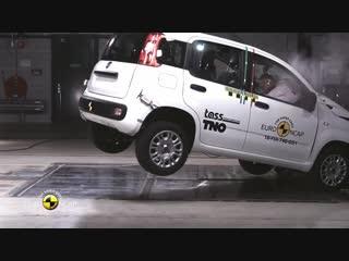 Краш-тест Fiat Panda