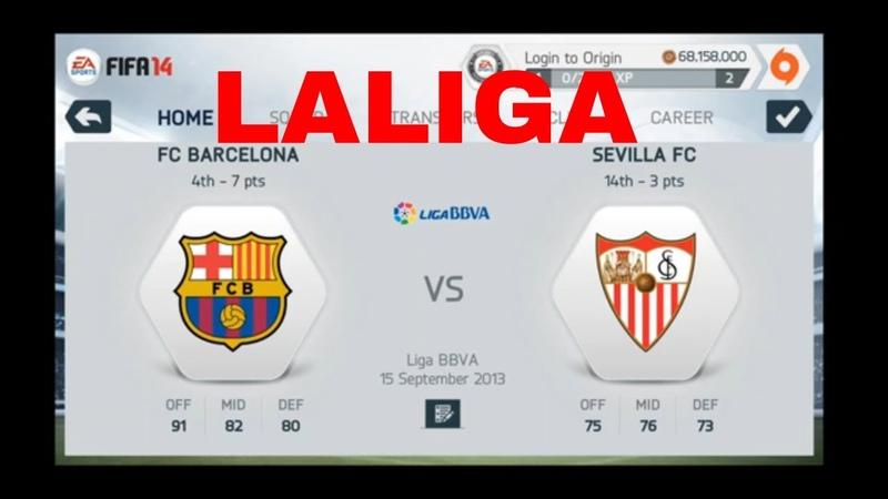 FIFA 14 Mobile REMASTER - Manager Mode - Barcelona - Season 1 - Part 6
