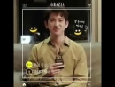 Jinyoungs mini interview for the june issue of grazia korea.