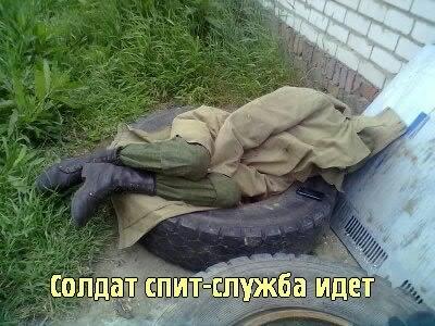 Солдат спит смешные картинки, пара гифы