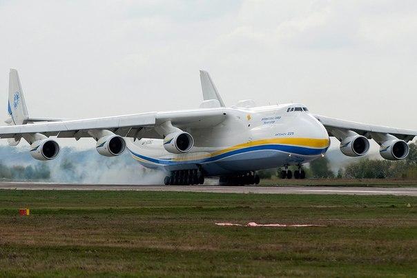 Ан-225 «Мрия»: Самый большой в мире самолёт
